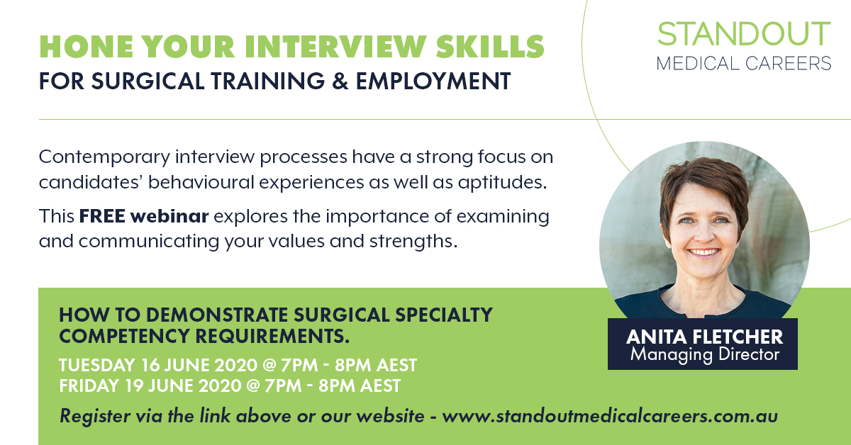 CV and interview skills for surgical positions